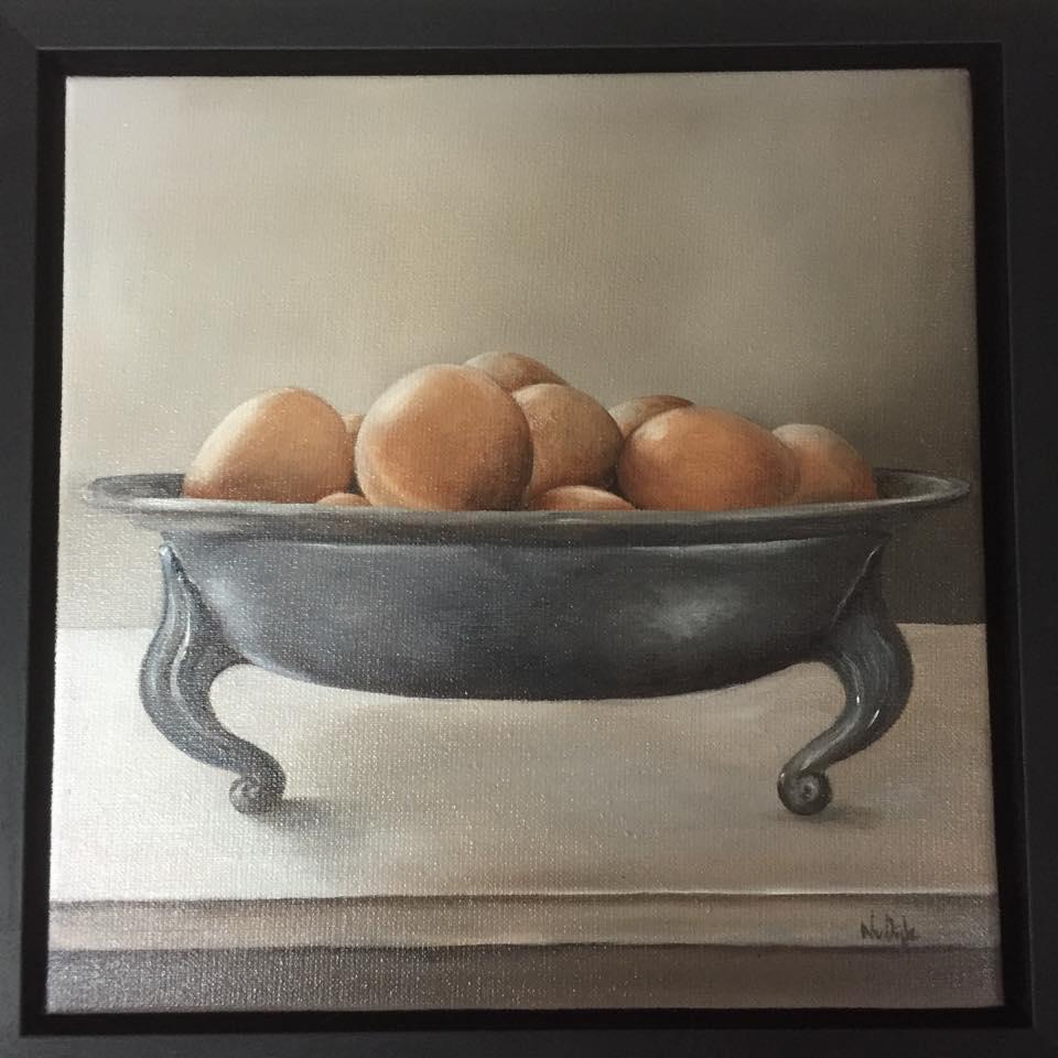 stilleven eieren
